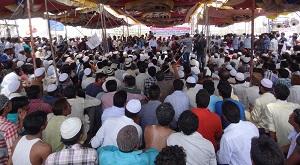 Muslim quota march
