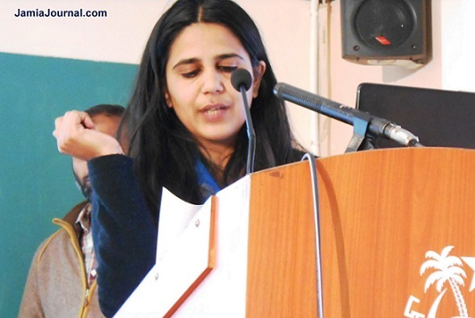 Manisha's fight against arrest of Muslim youths recognized by Indian Express