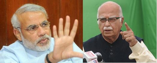 Modi Vs Advani