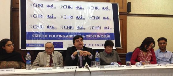Press conference addressed by activists on crime situation in Delhi