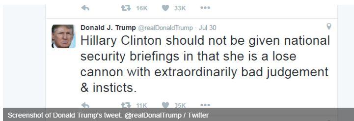Trump makes 3 spelling mistakes in 21-word tweet, trolled