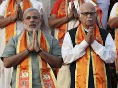 Advani, Modi, BJP, Karnataka poll, rally