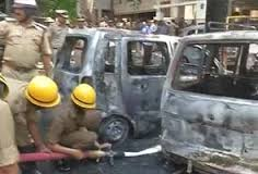 Explosion near BJP office in Bangalore, 16 hurt, bangalore blast