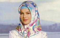 Russia Muslim woman