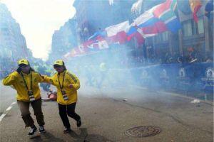 Two killed, 100 injured as terror strikes Boston marathon