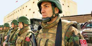 Turkish troops, turkish police