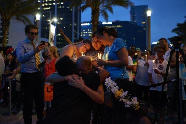 Orlando shooting Victims' families