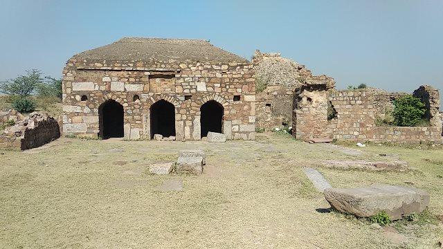 Tughlaqabad Fort Mosque